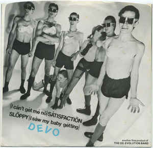 Devo Satisfaction sleeve