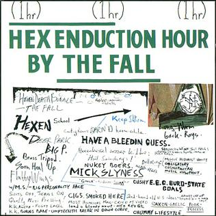 The Fall - Hex Enduction Hour cover